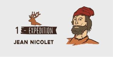 Équipe 1 - Jean Nicolet - Expédition