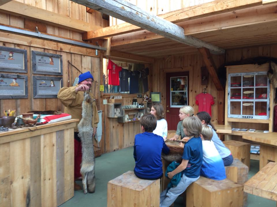 Expérience coureur des bois - Activité familiale